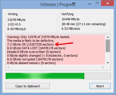 Программа h2testw на русском скачать бесплатно
